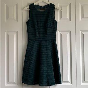 Like new mini dress in deep green color
